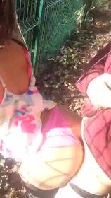 Videos de la sextape de Mignonbeurdeparis, Baise en pleine air